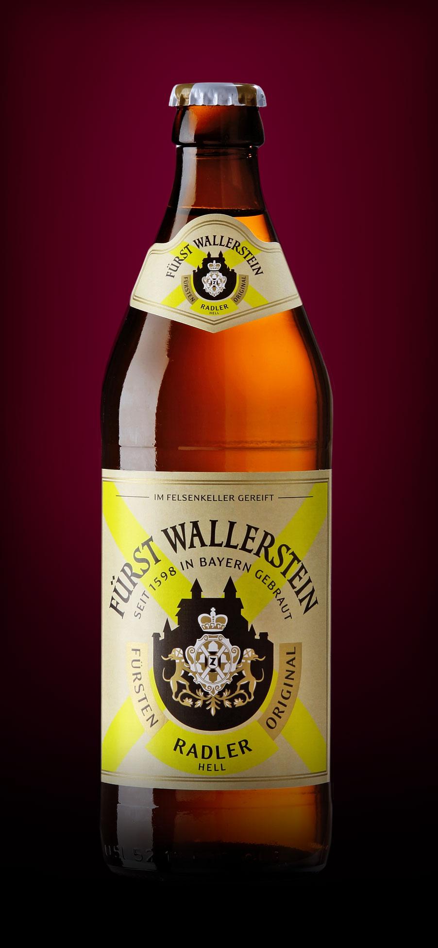Fürst Wallerstein Radler Original Hell - erfrischendes ...
