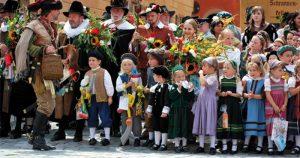 Alle Feste - Kinderfest Dinkelsbuehl - Fürst Walllerstein Brauhaus