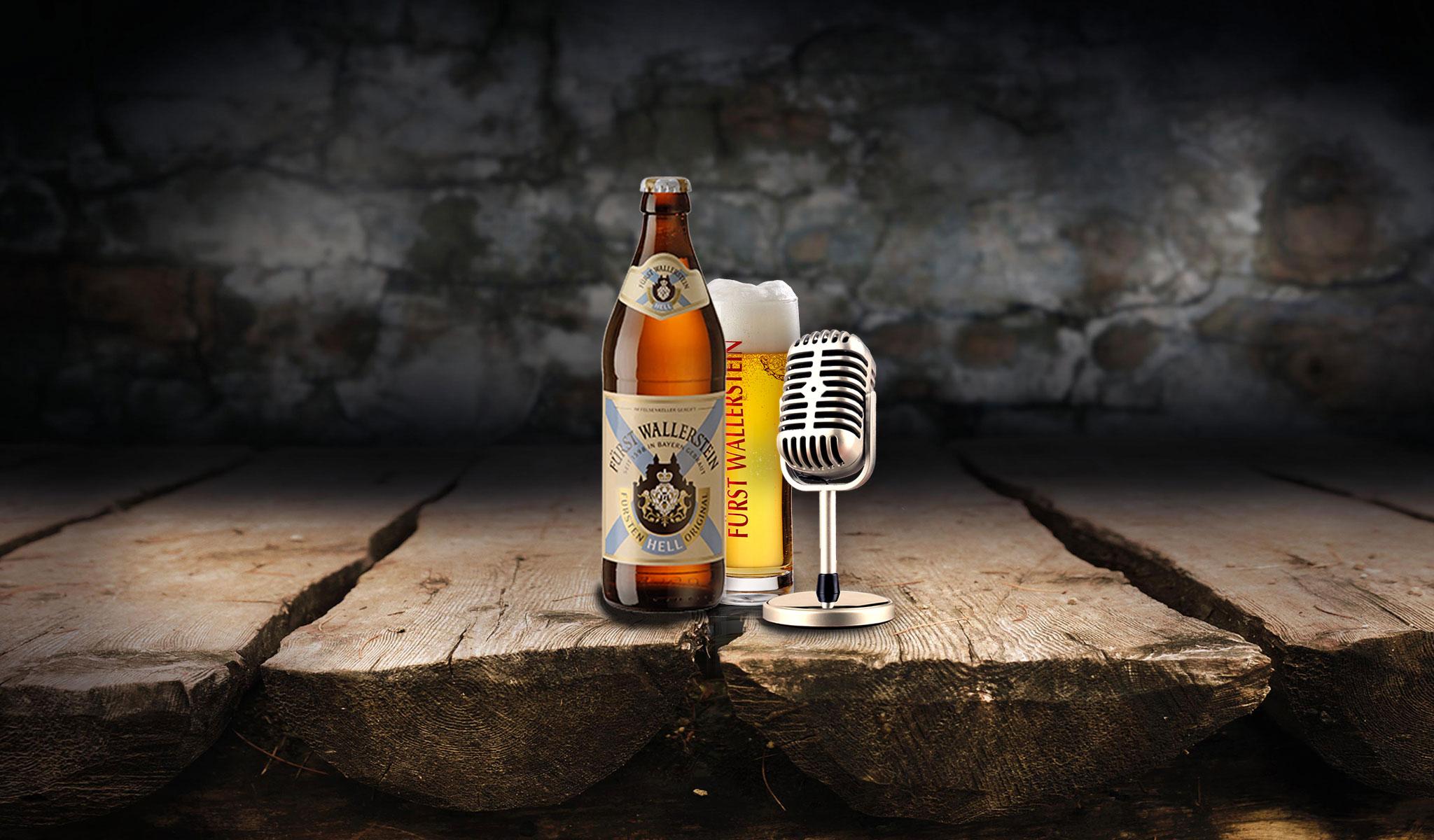 Auf ein Bier - der Fürst Wallerstein Bier-Talk mit August Wittgenstein